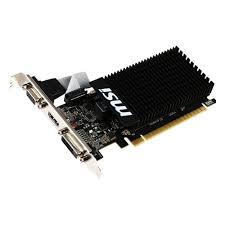 <b>Видеокарта MSI GeForce GT</b> 710 954Mhz PCI-E 2.0 1024Mb ...