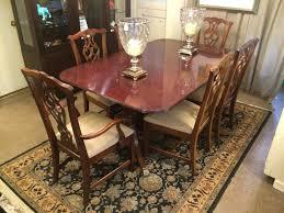 Henredon Dining Room Table Henredon Dining Table Riudellotsnet