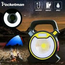 <b>LED Work Light</b> Flashlight Portable Floodlight Lantern 4-Mode ...