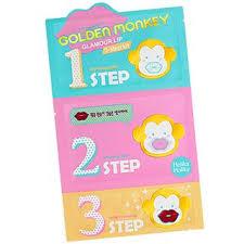 HOLIKA <b>HOLIKA Golden Monkey Glamour</b> Lip 3-Step Kit | YesStyle