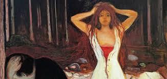 Resultado de imagen de Edvard Munch,