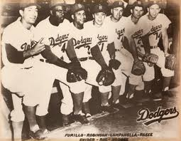 on a brooklyn boyhood baseball and jackie robinson baseball click to enlarge photo courtesy of nick meglin the boys of summer carl furillo robinson