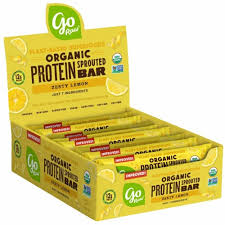 Go Raw Organic Sprouted Grow Plant Protein Bar Zest ... - Kroger
