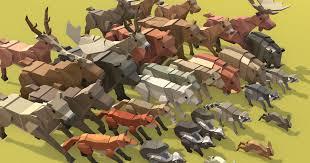 <b>Simple Forest</b> Animals - Cartoon Assets | 3D Animals | Unity Asset ...