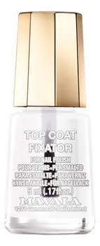 <b>Фиксатор лака для</b> ногтей Top Coat Fixator 5мл от MAVALA в ...