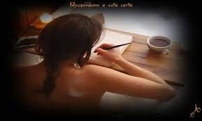 Resultado de imagen para mujer escribiendo carta de amor