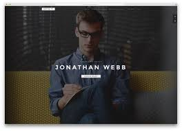 15 best html5 vcard and resume templates for your personal online definity fullscreen resume website template