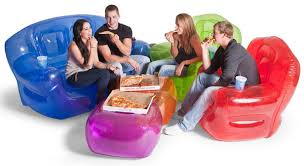 inflatable furniture budget friendly strength style blowup furniture