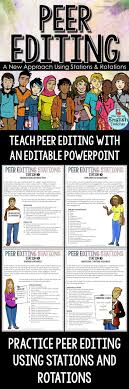 peer editing stations and rotations mathematics middle and in is always stressed so this could be useful use stations and rotations for effective peer editing high school english middle school english writing