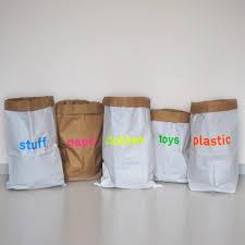paper bag <b>set of 5</b> / the original / papiersack / sac de papier / bolsa ...