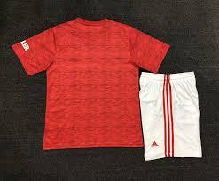 girl kids 21 home uniforms football 20 manchester Jeunes Sets ...