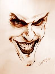 Image result for joker face