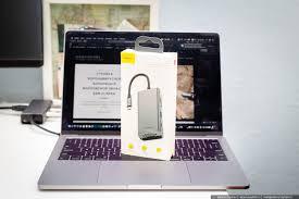 Обзор <b>Baseus Square</b> desk - лучший usb <b>хаб</b> для MacBook Pro ...