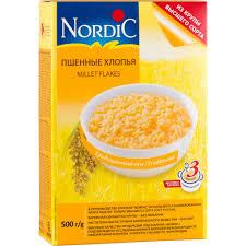 <b>Хлопья</b> пшенные <b>Nordic</b> 500 г - отзывы покупателей на ...