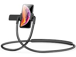<b>Держатель</b> для смартфонов на шею <b>Baseus New Neck</b>-<b>Mounted</b> ...