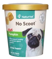 NaturVet <b>No Scoot Dog</b> Soft Chews, 60 count - Chewy.com