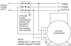 phase a matic inc rotary phase converter installation instructions rotary converter installation hook up connection illustration diagram