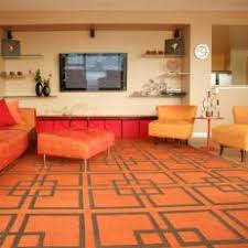 retro orange living room burnt orange living room furniture