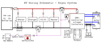 schematic v is for voltage electric vehicle forum contactor wiring schematic for reversing series motor · dewalt dc9360 nanophosphate battery pack wiring diagram