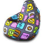 Купить <b>Кресло</b>-<b>мешок Груша Пазитифчик Плей</b> 01 недорого в ...