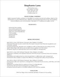 accounting  amp  finance resume templates to impress any employer    resume templateauditor