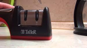 Заточка <b>ножа</b> (Точилка для <b>ножей</b> TALLER TR-2501) - YouTube