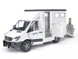 <b>Игрушка Bruder</b> Mercedes-Benz Sprinter фургон с лошадью 02-533