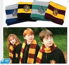 Harry <b>Potter</b> Scarf <b>Gryffindor</b> Slytherin Hufflepuff <b>Ravenclaw Cosplay</b> ...