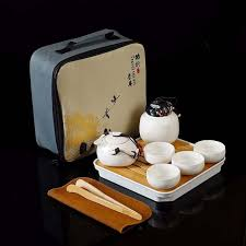 Online Shop 10pcs <b>Kung fu</b> Tea set,<b>Chinese Travel</b> Ceramic ...