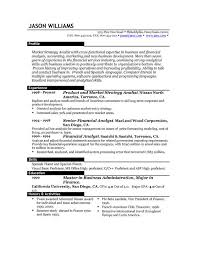 what is the best resume template  socialsci coresume template best word sample resume format template with senior financial analyst experience best   what is the best resume template