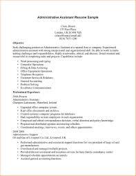administrative resumes samples business proposal templated net sample resume administrative assistant medical office bessler s