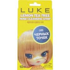 <b>Очищающие полоски</b> для носа <b>LUKE</b> с экстрактом лимона и ...