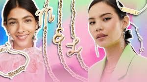 Word & <b>Name Jewelry</b> Trend 2019 | 53 <b>Personalized</b> Jewelry Pieces ...