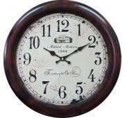 <b>Часы Михаил</b> Москвин 25.86.2 Бордовые <b>настенные</b> круглые ...