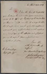 forging a federal government creating the united states letter from john langdon to george washington 6 1789 manuscript george washington papers manuscript division library of congress 71 00 00