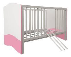 Купить <b>кровать</b>-трансформер <b>Polini Simple</b> 140 х 70 белый-роза ...