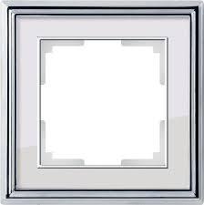 <b>Рамки Werkel Palacio</b> WL17-Frame хром/белый купить, цена ...