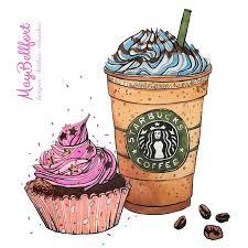 Как нарисовать кофе маркерами / пирожное <b>скетч</b> маркерами ...