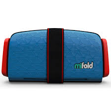 Купить бустер <b>Mifold the Grab</b>-and-<b>Go</b> Booster <b>seat</b>/Denim Blue в ...