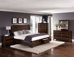 warm brown cherry finish traditional bedroom w storage footboard hebs best wood for making furniture