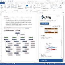gliffy now available for microsoft word   gliffy blogif you    re a gliffy online customer  the possibility of adding gliffy diagrams  flowcharts  and org charts to microsoft word docs has probably already