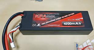 <b>Аккумулятор Vant Battery Li</b>-<b>Po 11.1</b>V 4200mah 40C