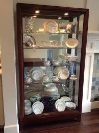 ideas china hutch decor pinterest: china cabinet display idea  china cabinet display idea