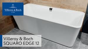 <b>Квариловая ванна Villeroy&Boch</b> Squaro Edge 12 ...