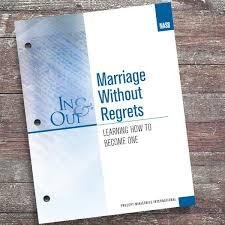 Marriage <b>Without</b> Regrets-<b>In</b> & <b>Out Workbook</b> (Nasb) – Precept ...