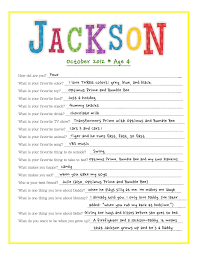 memory making questions for your toddler i did something birthday interview literally reminds me of my jackson lol