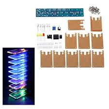<b>DIY LED Flash Kit</b> Voice-Activated Audio Frequency: Amazon.in ...