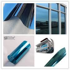 <b>Blue Silver</b> Reflective One Way Mirror <b>Film</b> Width: 90cm 82 ...