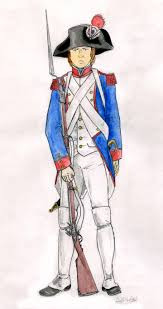 french revolutionary army french line fusilier during the revolution