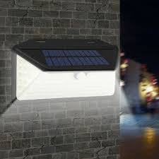 8pcs <b>Outdoor LED</b> Solar <b>Gutter</b> Lights Exterior Security IP65 Wall ...